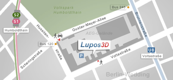 Lupos3D, Berlin Map (city map)